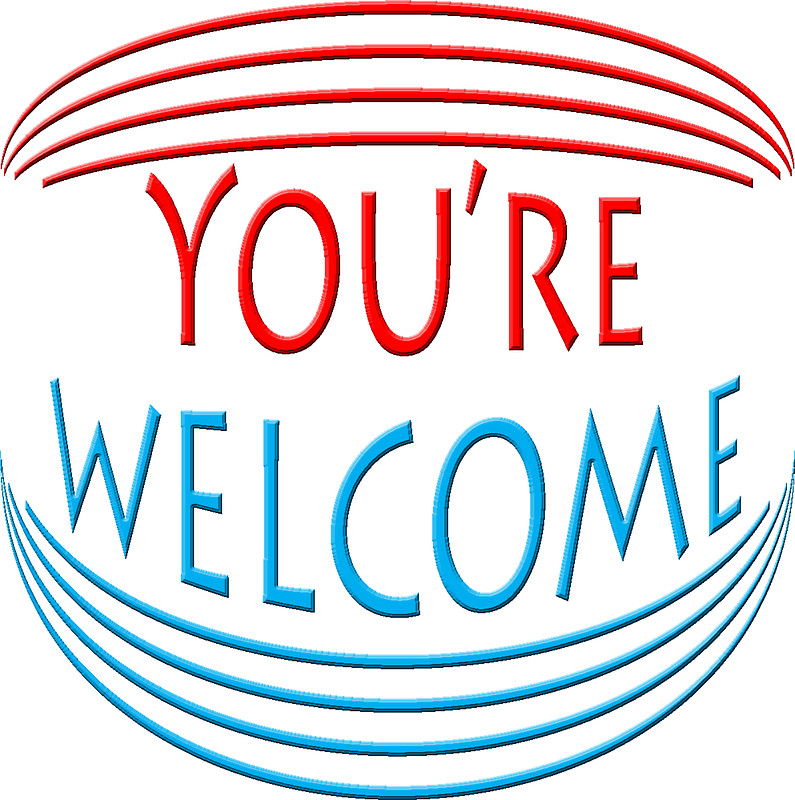 795x800 You'Re Welcome Stickers By Teasetees Redbubble