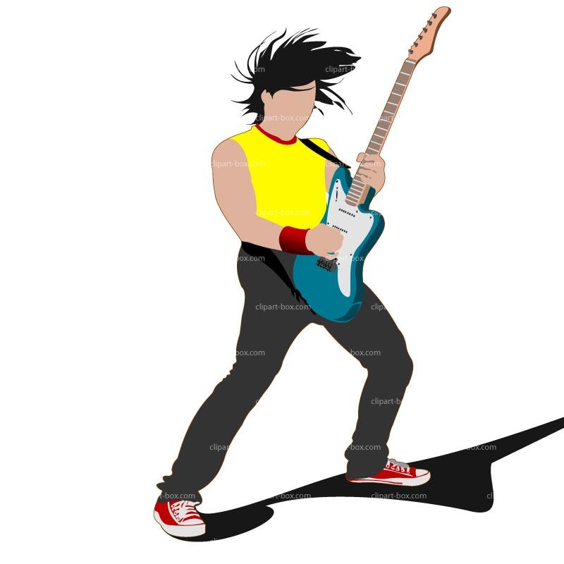 800x800 Rock Guitar Clip Art Free Clipart Images 3