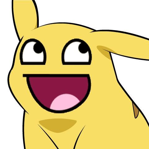 480x480 Awesome Face Pikachu Give Pikachu A Face Know Your Meme