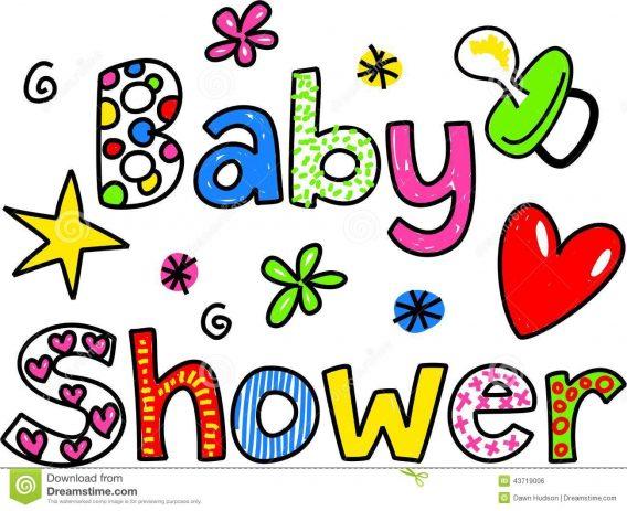 568x463 Baby Shower Clip Art