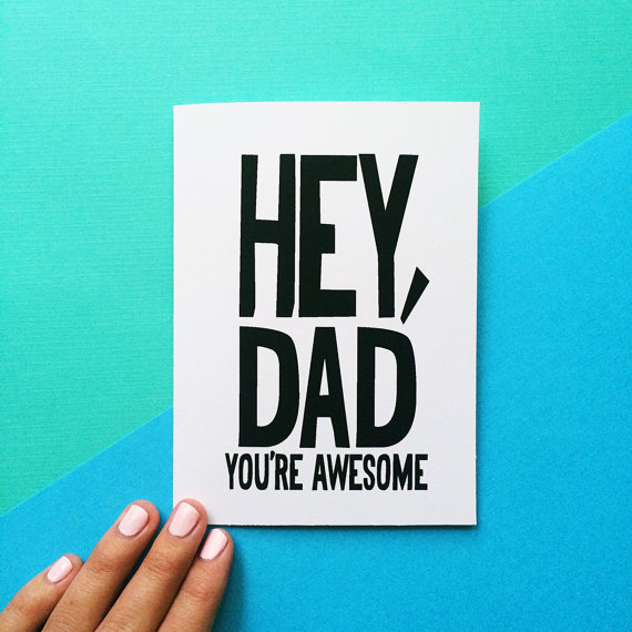 570x570 Funny Valentine Card For Dad Fathers Day Card Birthday Card