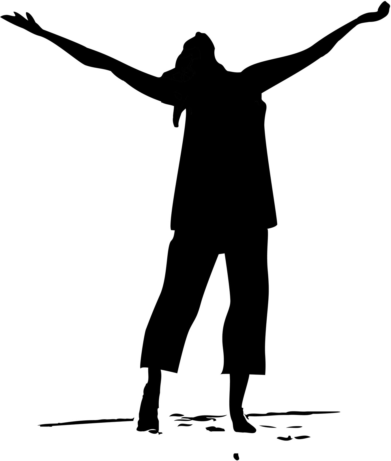 1355x1600 Youth Praise Dance Clipart