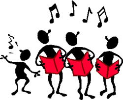 250x204 Youth Choir Clipart Kid