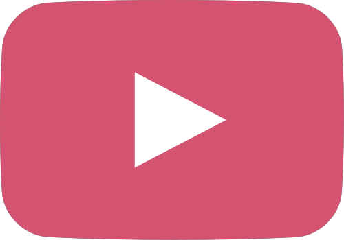 Youtube pink. Play button png free