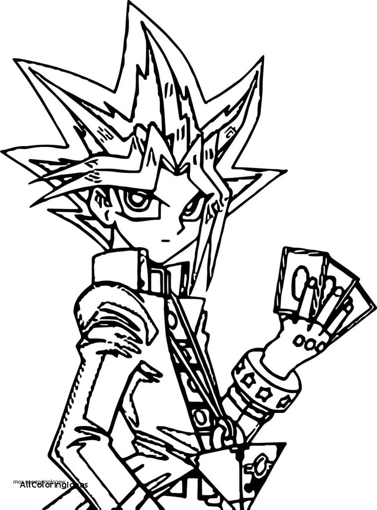 Yugioh Coloring Pages Free Download Best Yugioh Coloring