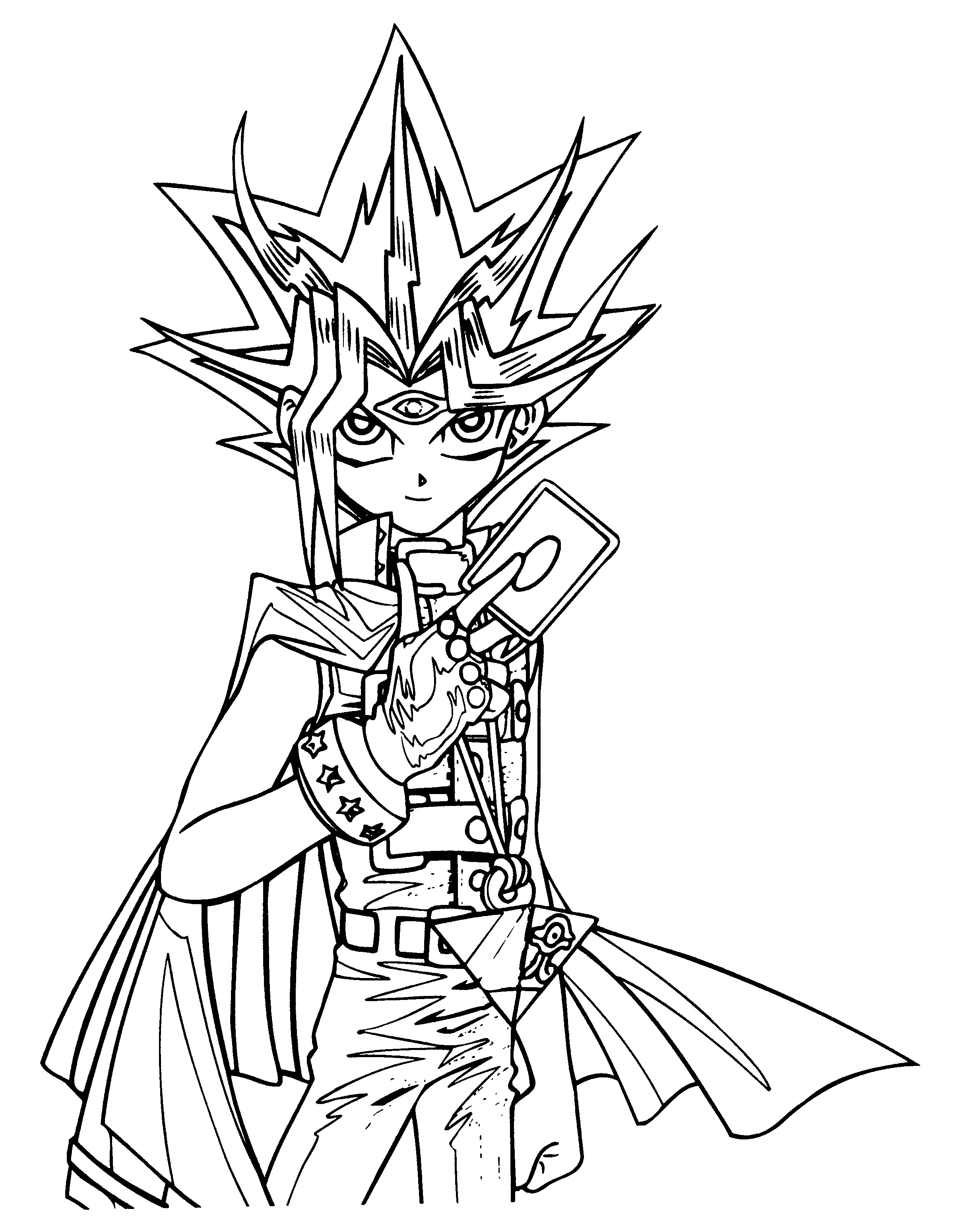 Yu gi oh monster coloring pages ~ Yugioh Coloring Pages | Free download best Yugioh Coloring ...