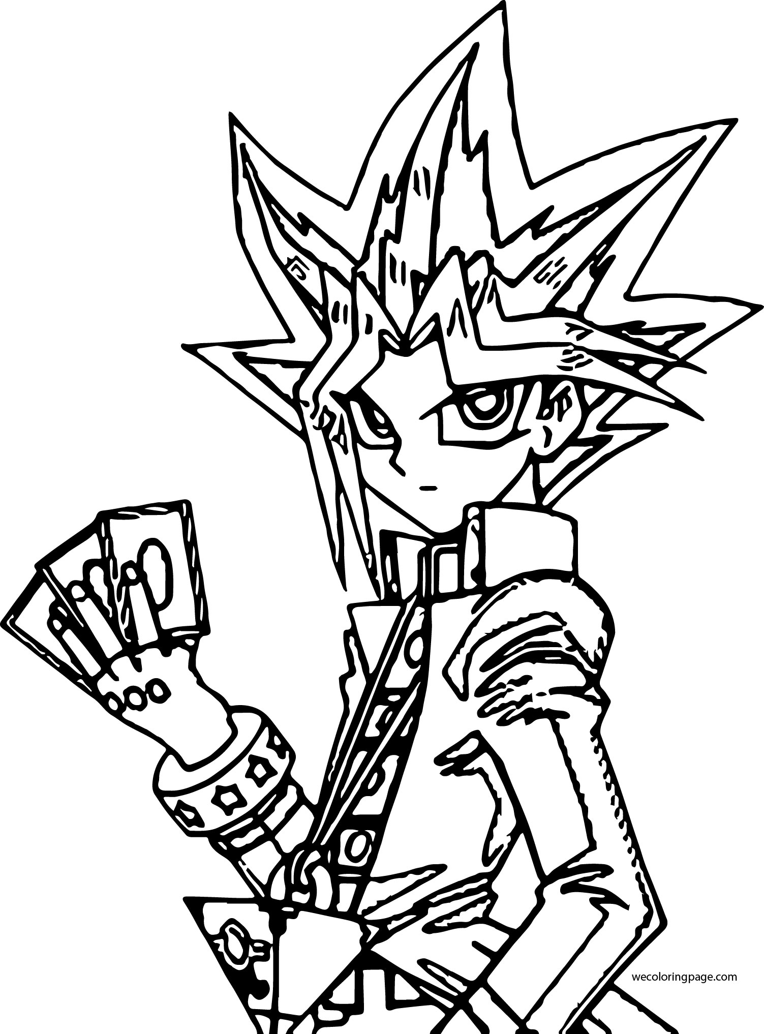 Yugioh Coloring Pages | Free download on ClipArtMag