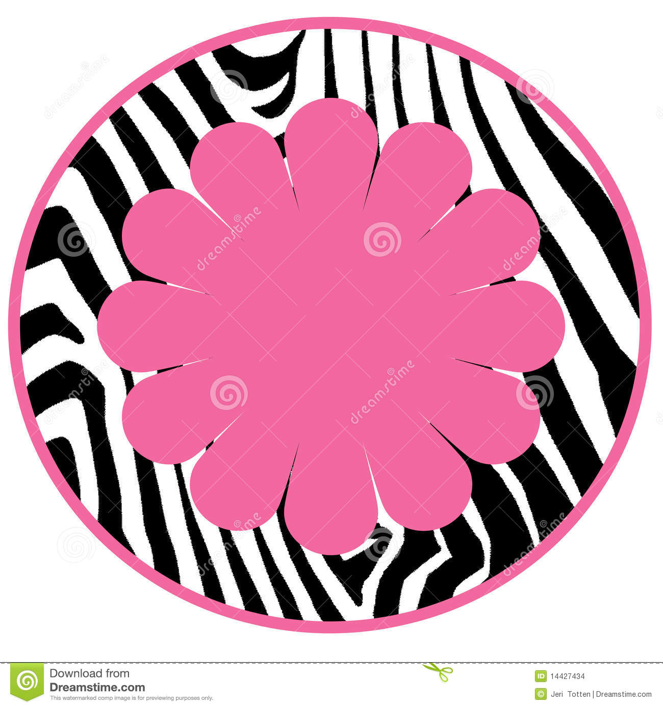1300x1390 Circle clipart zebra print