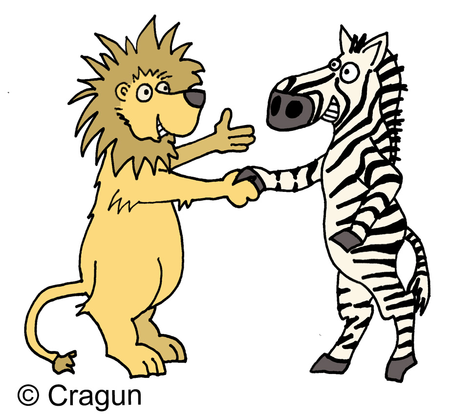 921x850 Lion clipart zebras