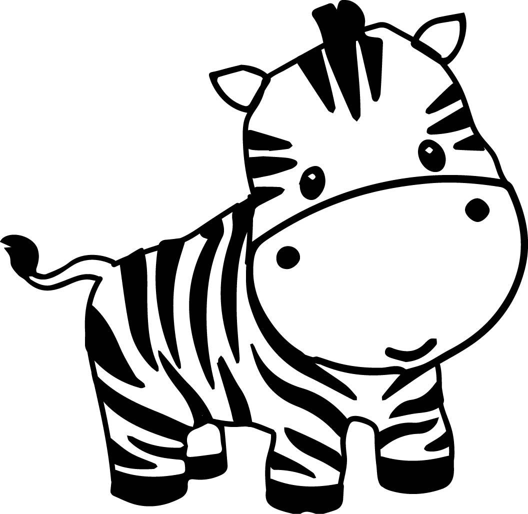 1056x1028 Top 10 Pages Clip Art Zebra Cute Cartoon Animal Images Clipart
