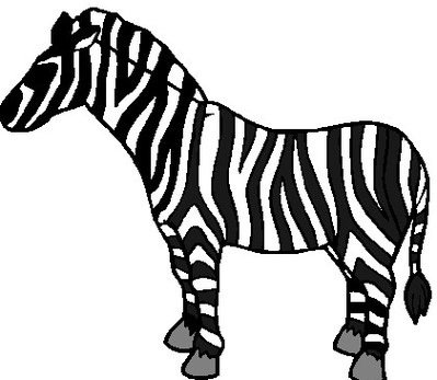 399x347 Zebra clip art clipart free to use resource
