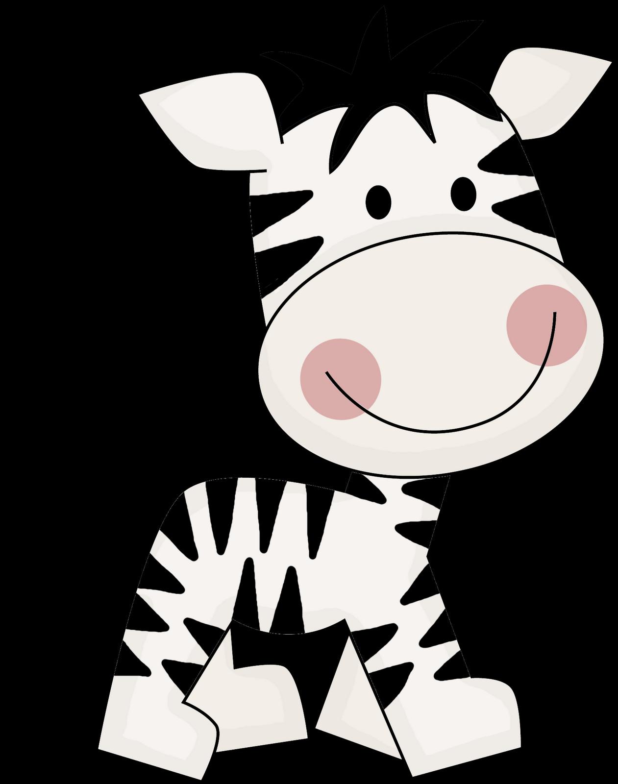 1261x1600 Cute Zebra Clipart