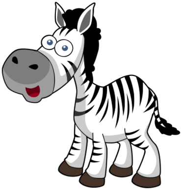 371x388 Cute Zebra Clipart Free Clip Art On 2 Clipartbarn