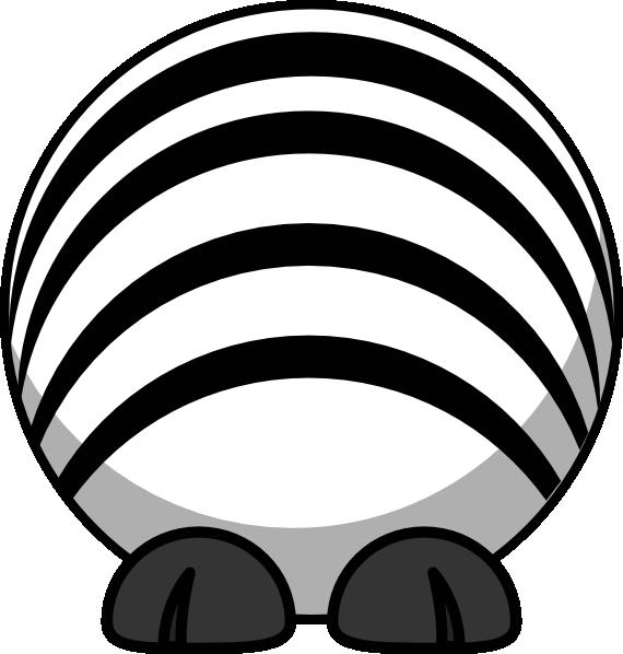 570x598 Zebra Body No Head Clip Art