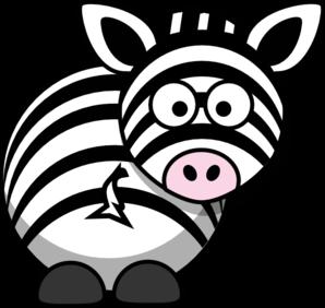 298x282 Zebra Clip Art