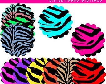 340x270 Zebra clipart Etsy