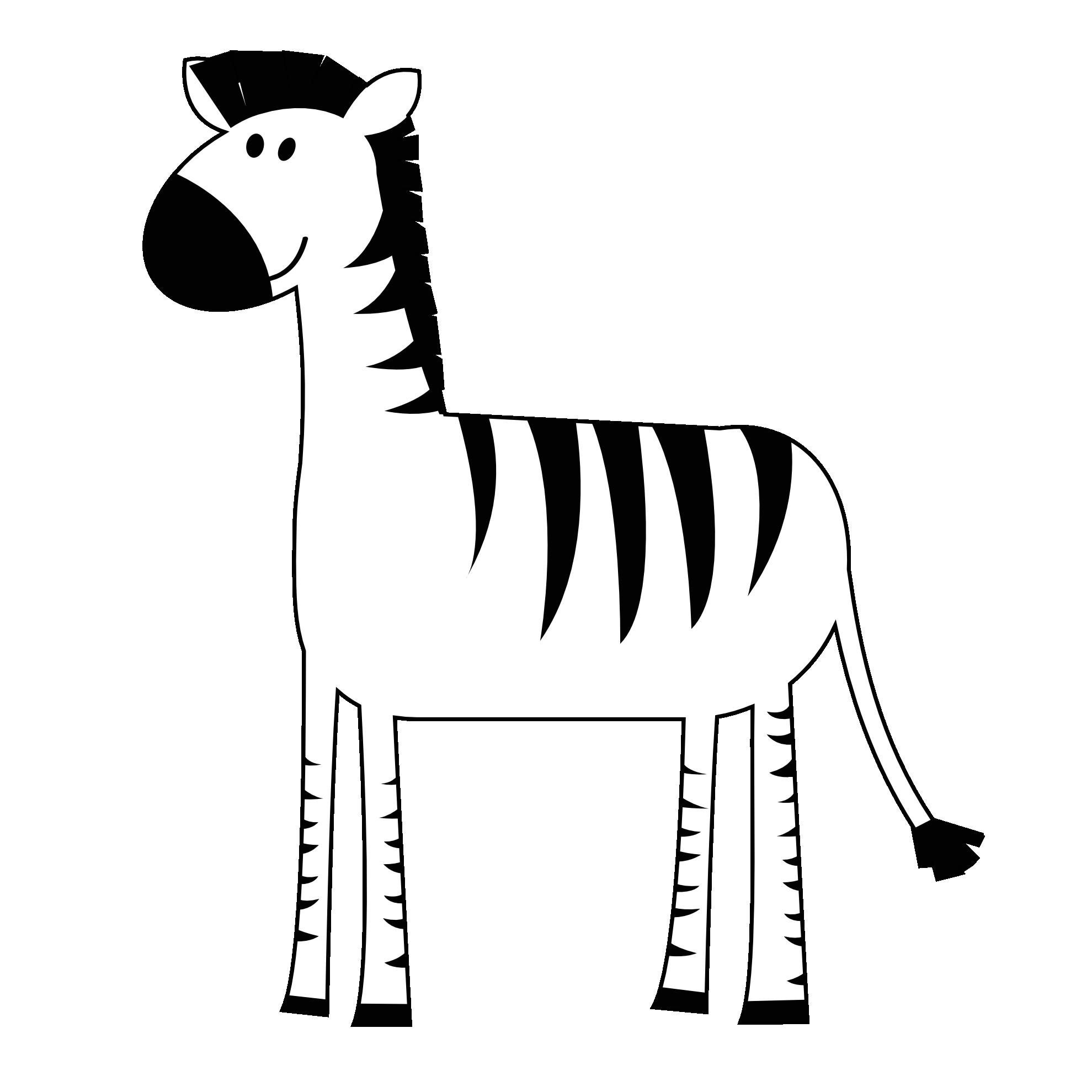 1979x1979 Zebra clipart animals clip art 3