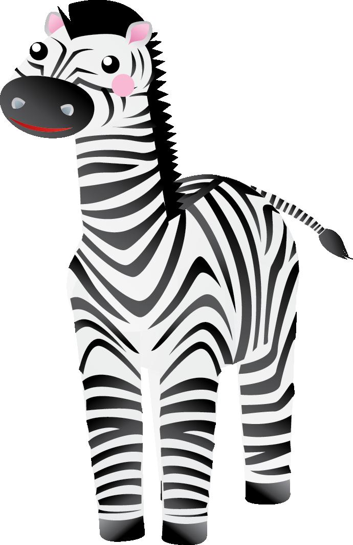 690x1063 zebra clip art