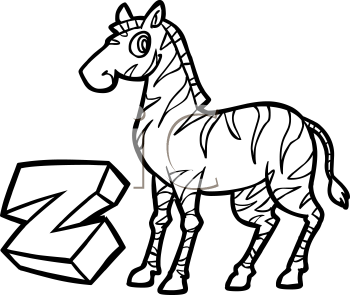 350x295 zebra clip art