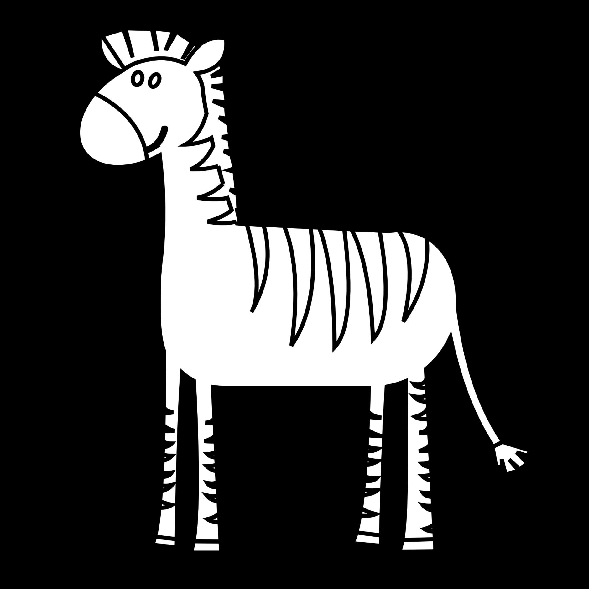 1880x1880 zebra clip art