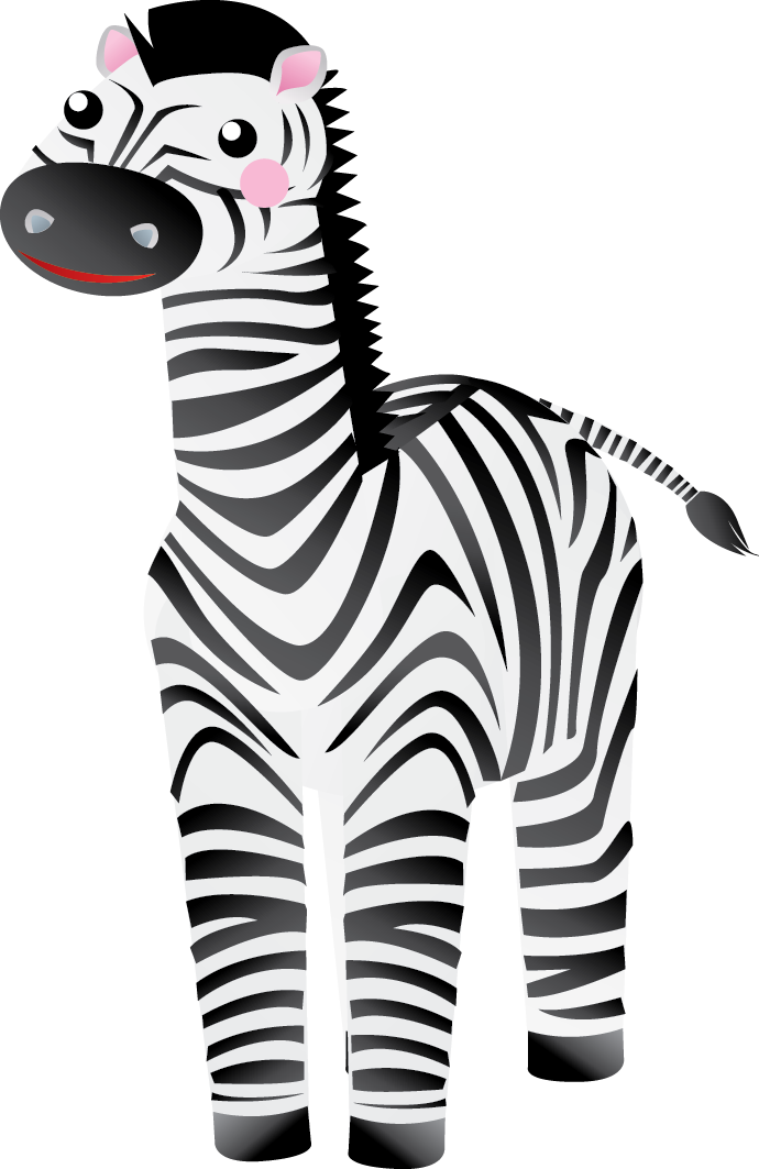 690x1063 Front Head Of Zebra Clipart Clipartfest