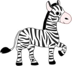 236x217 Black And White Clipart Zebra