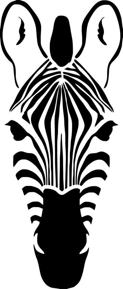 411x960 Zebra Drawing In Black Amp White @ Indulgy