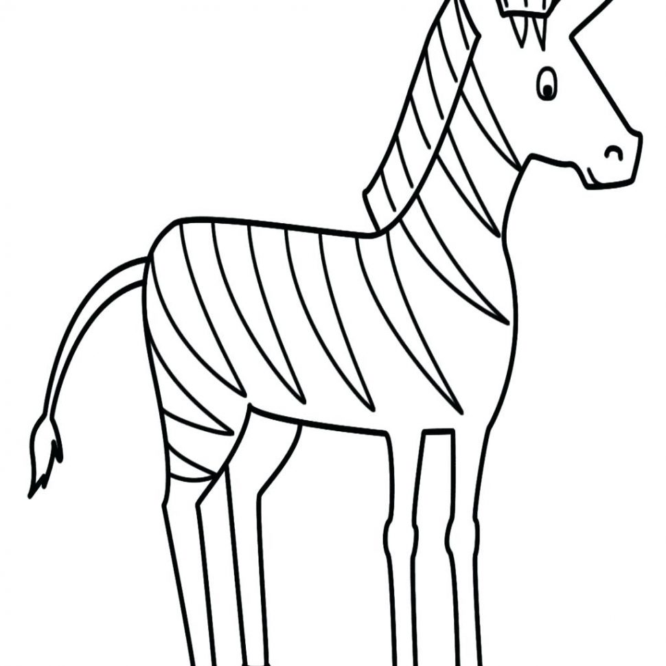 970x970 Coloring Pages Cute Zebra Coloring Pages Baby Free Unique