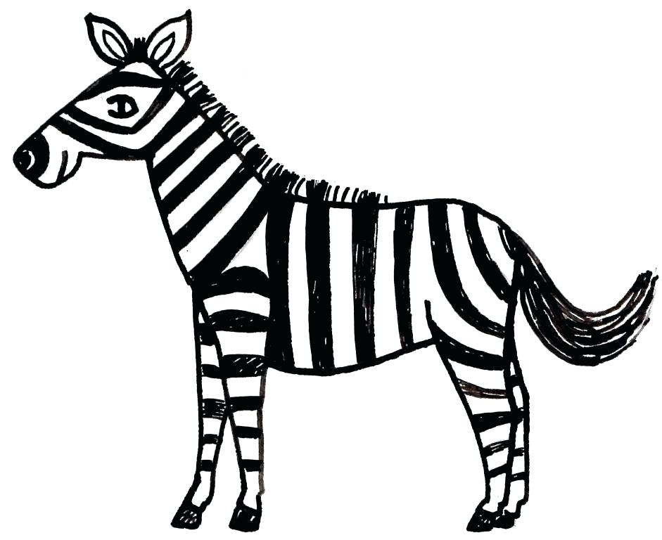 941x768 astonishing remarkable zebra coloring pages print coloring Kids