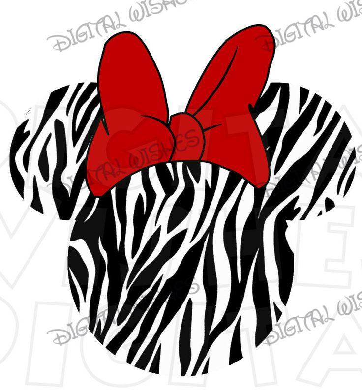 736x797 Minnie Mouse Zebra Clip Art