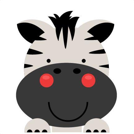 432x432 Baby Animal Clipart Cute Zebra Head