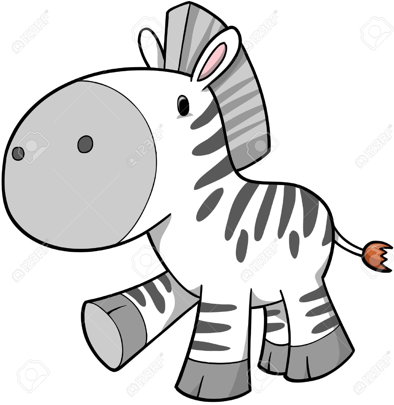 1264x1300 Zebra Vector Illustration Royalty Free Cliparts, Vectors, And
