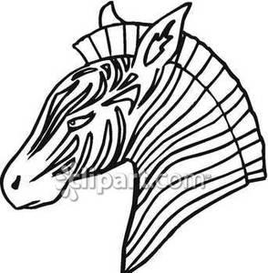 294x300 Of A Zebra Head