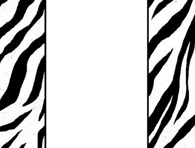 400x303 Zebra Border Clip Art Item 3 Clipart Panda