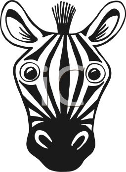 Zebra head clipart free download best zebra head clipart on 255x350 black and white cartoon of a zebra face pronofoot35fo Gallery