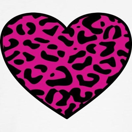460x460 Pink Animal Print Clip Art
