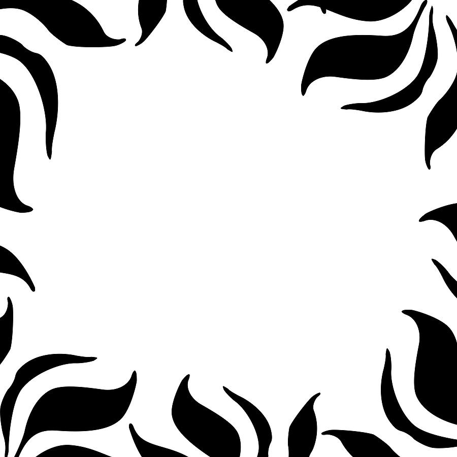 900x900 Zebra Border Clip Art