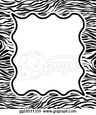 309x370 Zebra Border Clip Art