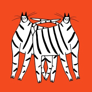300x300 Zebra Art, Zebra Illustration, Art Print, Prints, Food And Drink