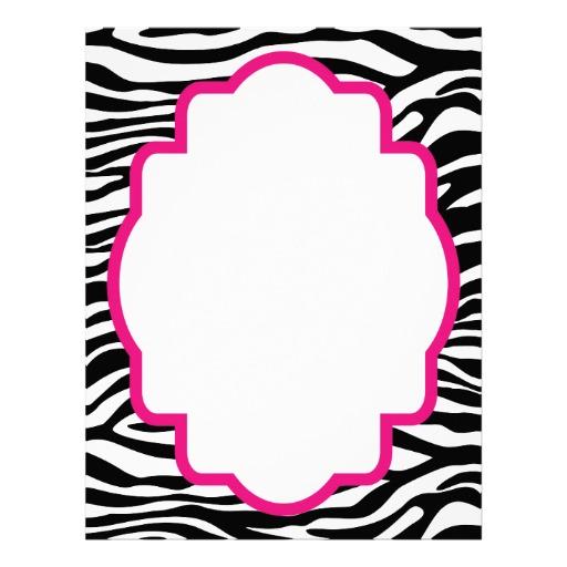 512x512 Zebra Border Clip Art Free