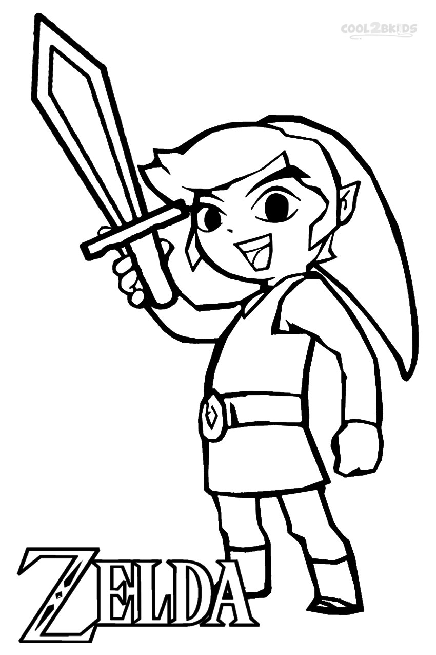 Zelda Coloring Pages   Free download best Zelda Coloring Pages on ...
