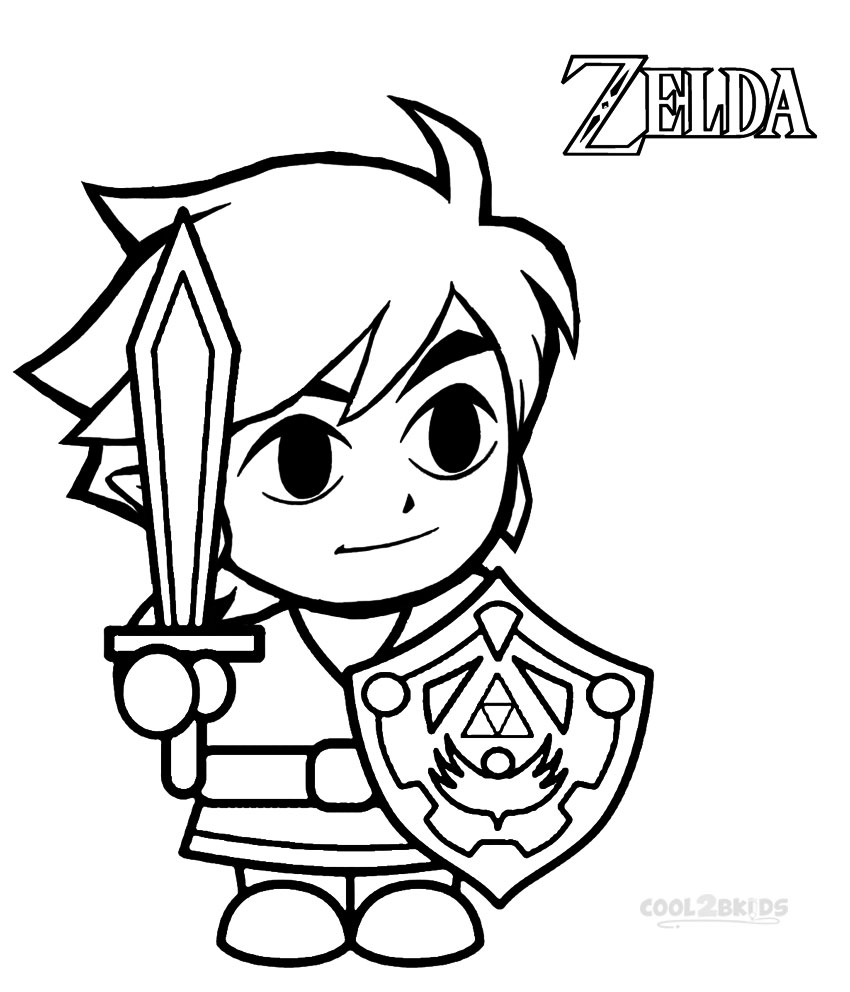 Zelda Coloring Pages | Free download best Zelda Coloring Pages on ...