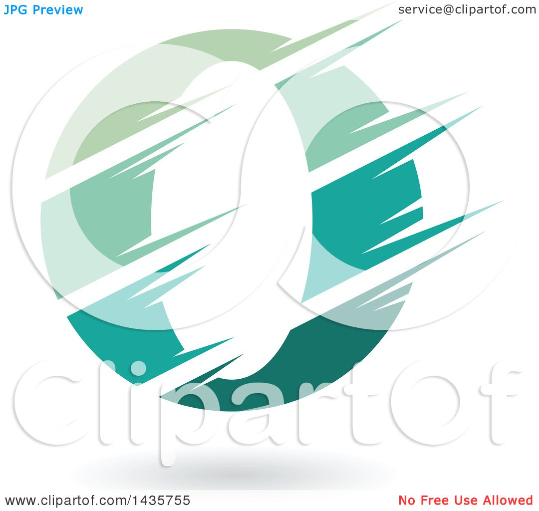 1080x1024 Clipart Of A Gradient Green Letter O Or Number Zero Design