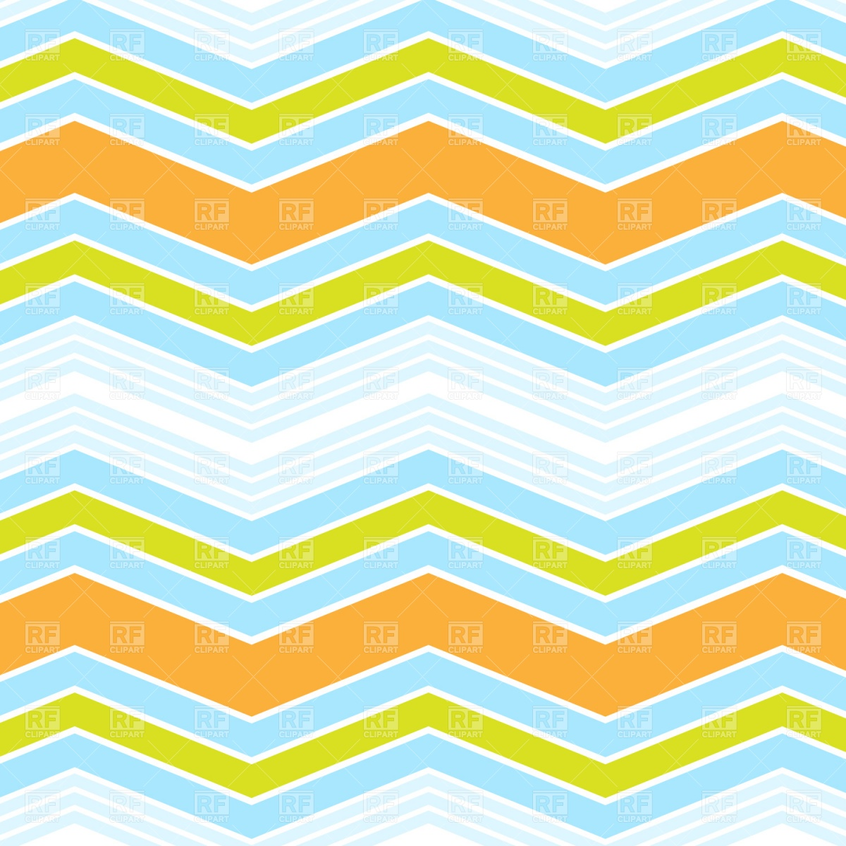 1200x1200 Abstract Zig Zag Background Free Vector Clip Art Image