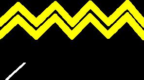 296x165 Yellow Zig Zag Clip Art
