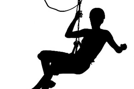 450x300 Zip Line Silhouette All Zipline Silhouettes, Zip Line Course Clip