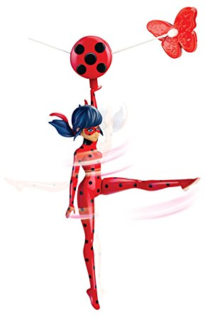 313x450 Miraculous Zip Line Ladybug Action Doll, 7.5 Toys