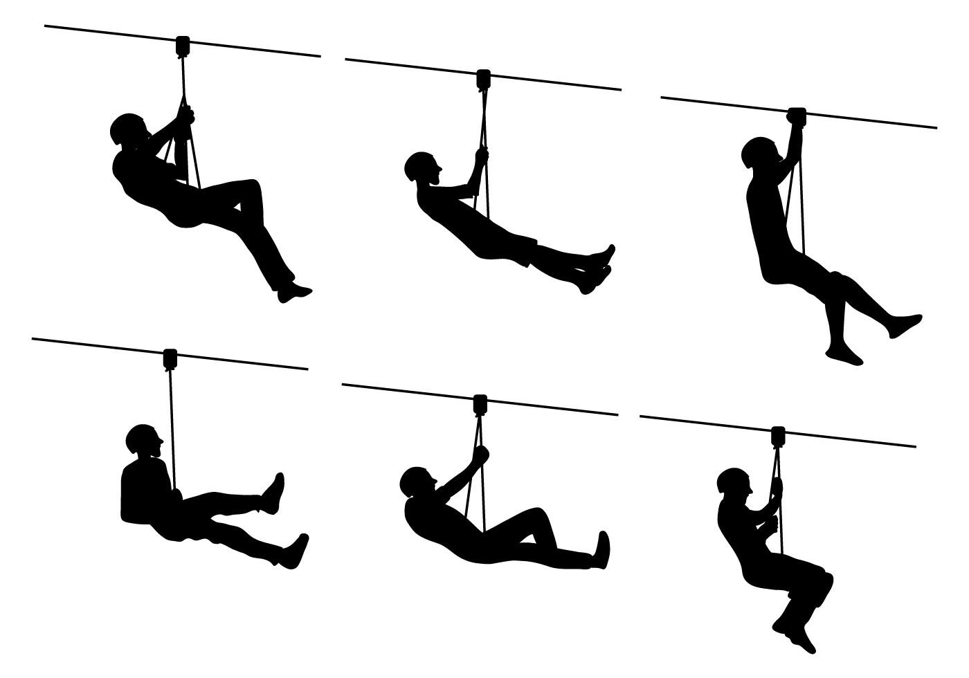 1400x980 Clip Art Zipline Clip Art