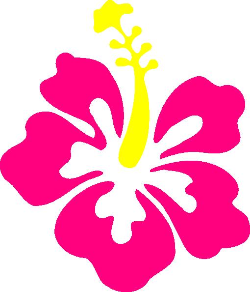 510x594 Happy Pink Hibiscus Pink Hibiscus, Clip Art