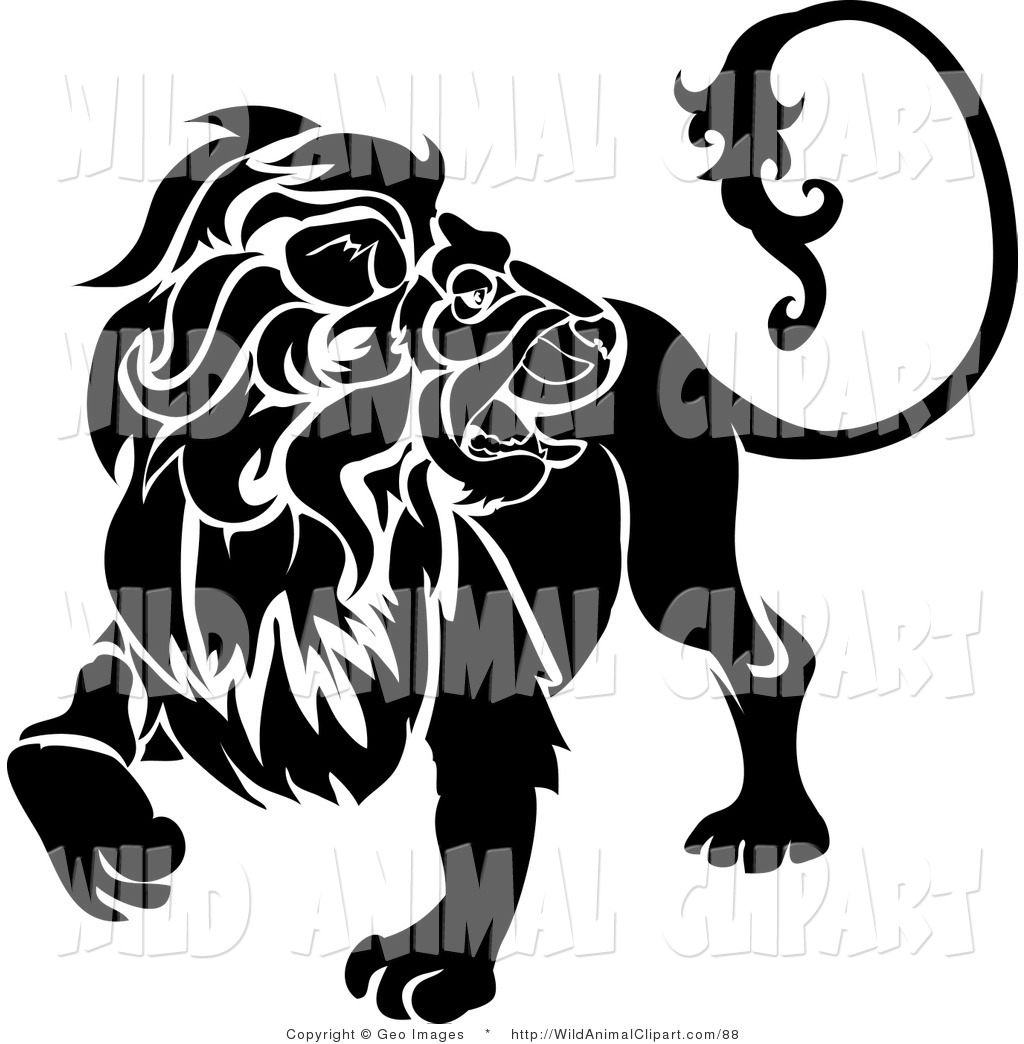 1024x1044 Clip Art A Furry Lion Looking Back, Leo, Astrological Sign